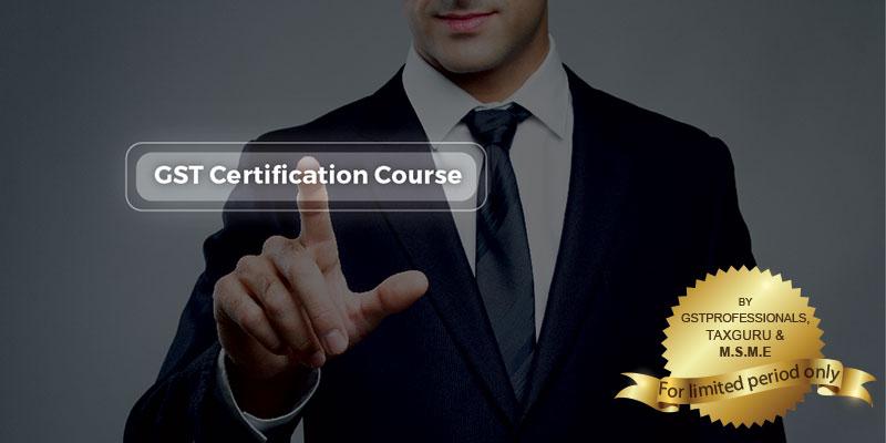 Online GST Course