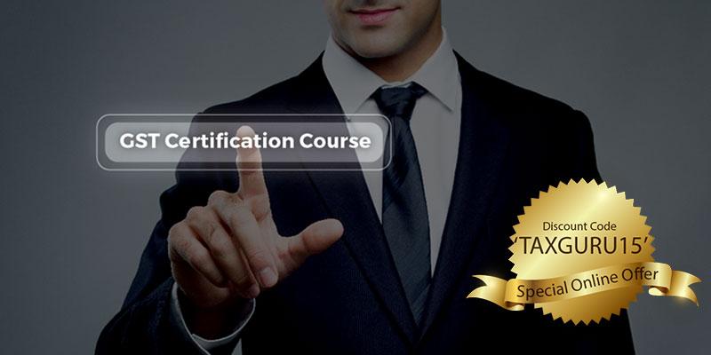 Gst Online Course